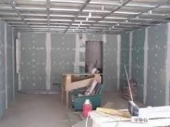 Монтаж стен, перегородок гипсокатоном, пеноблоками