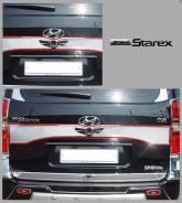 Накладка на дверь багажника. Hyundai Grand Starex