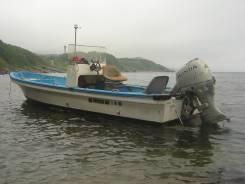Моторные лодки. 1995 год год, длина 5,90м., двигатель подвесной, 40,00л.с., бензин