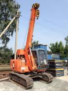 Hitachi. Гусеничный кран ямобур вышка EX60 LCT, 3 000 куб. см., 5 000 кг.