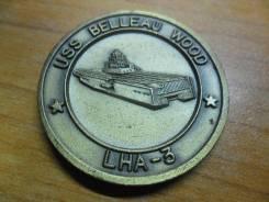 Памятный жетон от экипажа USS Belleau Wood (LHA 3)(Редкость)