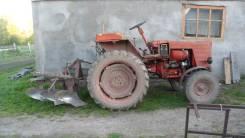 ВТЗ. Трактор без кабины