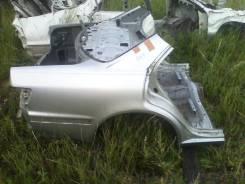 Задняя часть автомобиля. Toyota Mark II, JZX100 Двигатель 1JZGE
