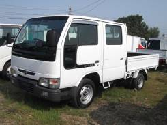 Nissan Atlas. , бензин, двухкабинник, борт 1250кг, 2 000 куб. см., 1 250 кг.