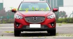 Накладка на решетку бампера. Mazda CX-5. Под заказ