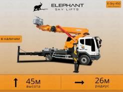 Elephant E-Sky 450. Автовышка Elephant 45 м. Качественный сервис. Полный пакет документов, 6 000куб. см., 45,00м.