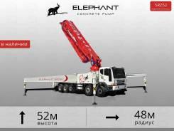 Elephant 5RZ52. Автобетононасос - 52 метра. На шасси Daewoo. В наличии, 11 011куб. см., 52,00м.