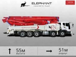 Elephant. Автобетононасос 5RZ56 - 55 метров. На шасси Daewoo., 11 011куб. см., 55,00м.