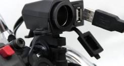 USB Герметичная розетка прикуривателя и для мототехники