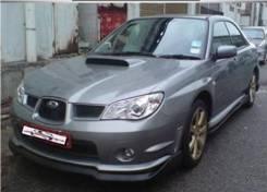 Накладка декоративная. Subaru Impreza WRX, GDB