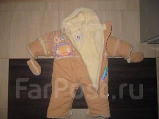 Шапка и перчатки. Рост: 80-86 см
