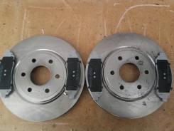 Диск тормозной. Nissan Navara, D40M Nissan Pathfinder, R51M, 51 Двигатели: V9X, YD25DDTI, VQ40DE