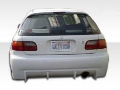 Honda Civic 3DR 92-95 Buddy Club Задний бампер. Отправка.