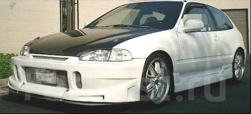 Обвес кузова аэродинамический. Honda Civic