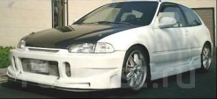 Обвес кузова аэродинамический. Honda Civic, EG3, EG4, EG5, EG6, EG8, EG9, EH2, EH3, EH9, EJ1, EJ2 Двигатели: B16A, B16A2, D13B, D13B2, D15B, D15B2, D1...