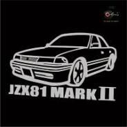 Наклейка. Toyota Mark II, JZX81