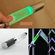 Светящаяся лейка душ светодиодный 7 LED новая на любой шланг!, и почтой