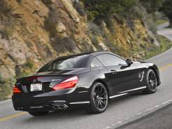 Спойлер. Mercedes-Benz SL-Class, R231
