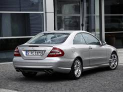 Спойлер. Mercedes-Benz CLK-Class