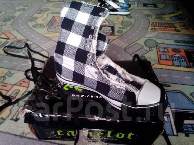 7b5396e1 Зимние кеды camelot - Обувь во Владивостоке