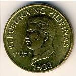 Филиппины_50сентимо_1993г