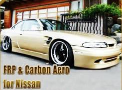 Крыло. Nissan 240SX Nissan Silvia, S14 Nissan 200SX