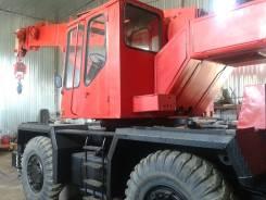 Юрмаш Юргинец КС-4372. Кран самоходный пневмоколесный КС-4372В, 20 000 кг., 30 м.