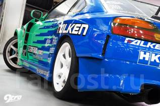 Порог пластиковый. Nissan Silvia, S15