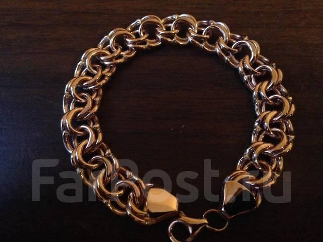 Фото золотого браслета в 30 граммах