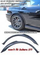 Накладка на крыло. Subaru Impreza WRX, GDB, GDA. Под заказ