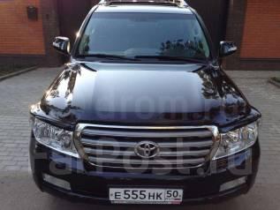 Накладка на фару. Toyota Land Cruiser, URJ202W, UZJ200W. Под заказ