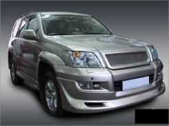 Обвес кузова аэродинамический. Toyota Land Cruiser Prado, TRJ12, TRJ150W, KDJ150L, GRJ151W, GRJ150W, GRJ150L Двигатели: 2TRFE, 1KDFTV, 1GRFE