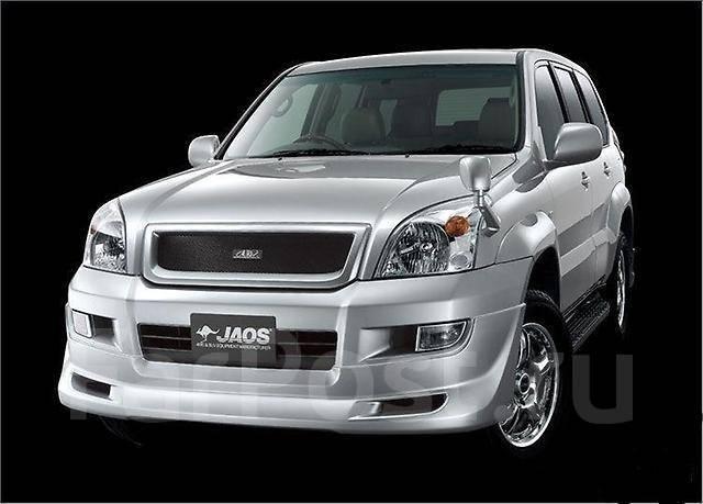 Обвес кузова аэродинамический. Toyota Land Cruiser Prado