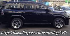 Расширитель крыла. Lexus LX570 Toyota Land Cruiser