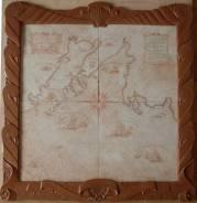 Продам керамическую карту-панно, ручная работа