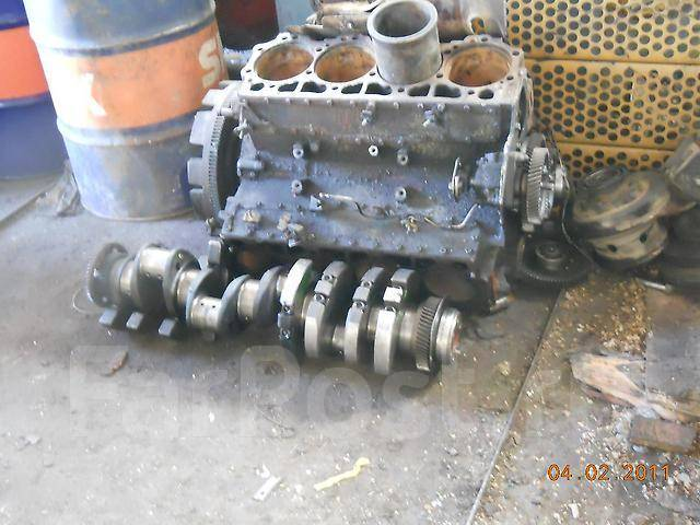 Двигатель в сборе. Nissan Diesel Mitsubishi Fuso