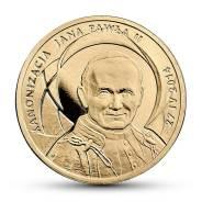 Польша, 2 злотых 2014 Канонизация Иоанна Павла II