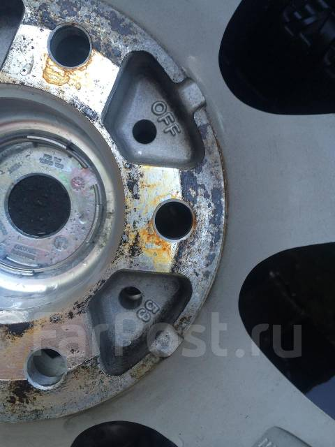 Отличное литье 17inch 6.5jj +53 pcd 5x114.3 Honda ok!. 6.5x17, 5x114.30, ET53