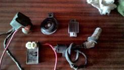 Мопед стабилизатор эл. блок катушка зажигания реле стартера сигнал вид