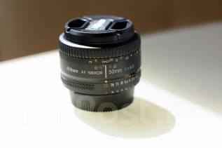 Продам объектив Nikon AF 50mm f/1.8D. Для Nikon, диаметр фильтра 52 мм