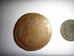 Монета 5 копеек 1767 года
