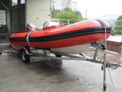 Продам лодку RIB Sportis 450 1995 года. Год: 1995 год, длина 4,50м., двигатель подвесной, 50,00л.с., бензин