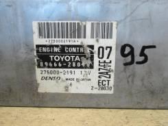 Блок управления двс. Toyota Estima, ACR30 Toyota Van, YR21, YR22, YR32, YR29, YR27, YR31 Двигатели: 2AZFE, 4YEC, 3YEC