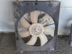 Вентилятор радиатора кондиционера. Honda Fit, GD1