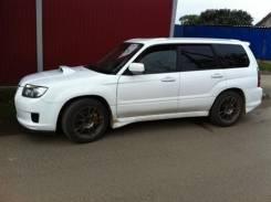 Накладка на бампер. Subaru Forester. Под заказ