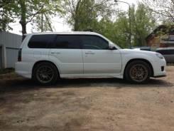 Накладка на порог. Subaru Forester. Под заказ