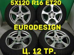 Manaray Euro Design. 7.0x16, 5x120.00, ET20
