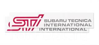 Наклейка. Subaru. Под заказ