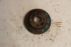 Диск тормозной. Nissan Bluebird, QU14 Двигатели: QG18DD, QG18DE, QG18