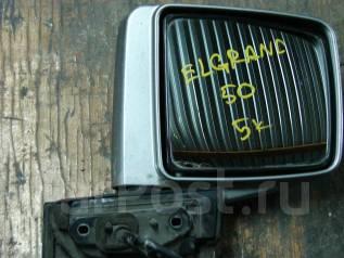 Зеркало заднего вида боковое. Nissan Elgrand, ALWE50, ATE50, ALE50, ATWE50, 50 Двигатели: VG33E, ZD30DDTI